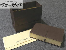 22番 ヴィトン ◆ 空箱 保存袋 ショップ袋 旧型 ▼ 長財布 手帳カバー 等に LOUIS VUITTON ボックス 3B