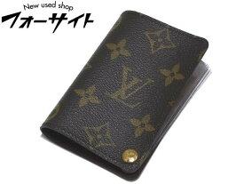 美品 ヴィトン カードケース ☆ プレッシオン M60937 モノグラム クリアポケット カード7枚収納 ▼ LOUIS VUITTON 3C