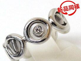 新品同様品 ティファニー アトラス リング ■ 1Pダイヤモンド K18WG 10号 ホワイトゴールド レディース TIFFANY&Co. □3I