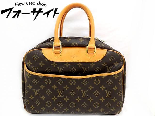 Louis Vuitton ヴィトン■M47270 ドーヴィル モノグラム ハンドバッグ□30G