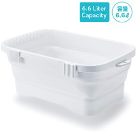 【送料無料】ISETO (伊勢藤)ISETO (伊勢藤)折りたたみ洗い桶キッチンソフトタブ6.6L ホワイトキッチン ソフトタブ 6.6L ホワイト