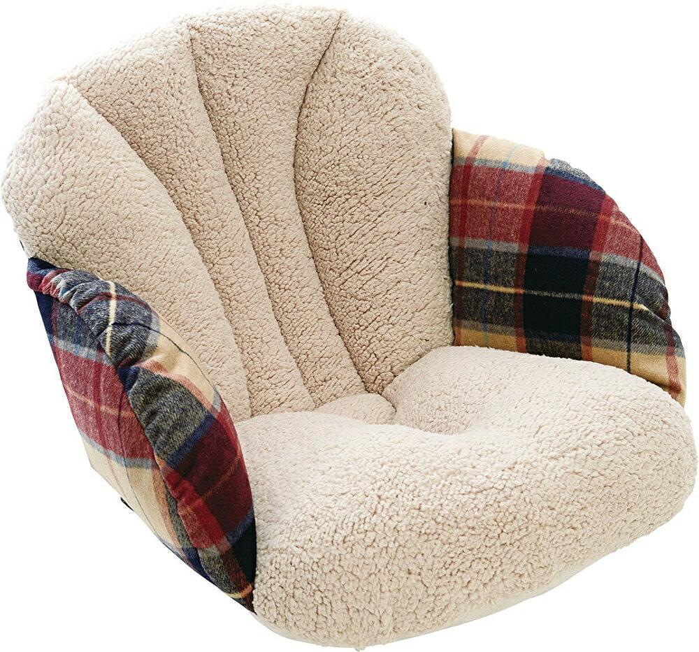 【送料無料】コジット(COGIT)腰と背中を包む座れる毛布ツイードベージュ
