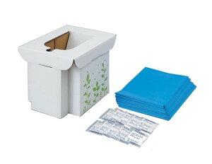 【送料無料】緊急用組み立て式トイレ《コジット》(非常用 凝固剤)