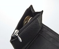 【ポスト投函送料無料】コジット(COGIT)すっきり収まる手のり財布ブラック