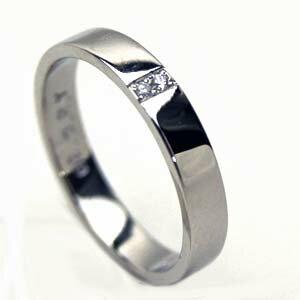 【送料無料】人気のプラチナダイヤリング【刻印・文字彫り無料】結婚指輪・マリッジリング・記念日・ギフト