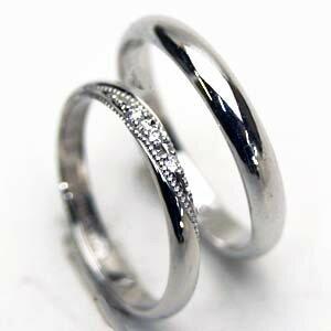 お得な2本セット価格送料無料シルバーダイヤペアリング【刻印・文字彫り無料】結婚指輪・マリッジリング・記念日・ギフト05P02jun13