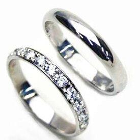 プラチナリング お得な2本セット送料無料 人気 プラチナ 甲丸リング ダイヤペアリング【刻印・文字彫り無料】結婚指輪/マリッジリング/ダイヤモンド/指輪/ring/記念日/ギフト/platinum 02P03Sep16