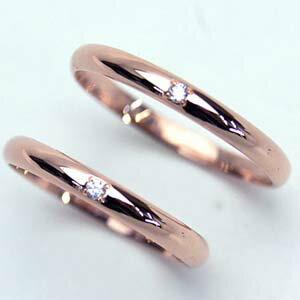 【お得な2本セット価格】人気のピンクゴールドペアリング【刻印・文字彫り無料】結婚指輪・マリッジリング・記念日・ギフト