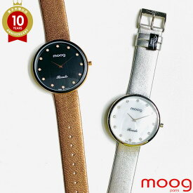 moog ムック 腕時計 TTC Ronde | フランス フランス製 時計 レディース ウォッチ 防水 ブランド アナログ おしゃれ 革ベルト クオーツ シンプル シルバー かわいい 交換ベルト 可愛い 簡単装着 ベルト ファッション時計 送料無料