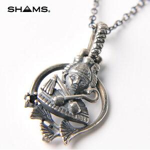 SHAMS(シャムス)エジプト 7守護神 シルバー925 ペンダント トップ オリジナル チェーン付き|ネックレス チャーム 誕生日 お守り レディース メンズ アクセサリー おしゃれ かっこいい ブラ