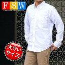 ボタンダウンシャツ 長袖 大きいサイズ メンズ シャツ 3L 4L 5L ゆったり オックスフォードシャツ 父の日 プレゼント …