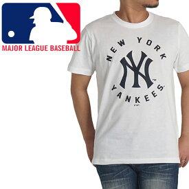 メジャーリーグ tシャツ メンズ 半袖 ベースボール 野球 NYヤンキース MLB ニューヨークヤンキース ブランド(本体)綿100% M L LL 夏 送料無料 c5030 c5031
