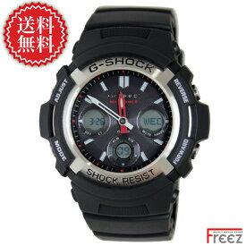 CASIO カシオ G-SHOCK ジーショック 腕時計 メンズ 電波 ソーラー Gショック ジーショック ソーラー 電波時計 AWG-M100-1A 【あす楽】【送料無料】