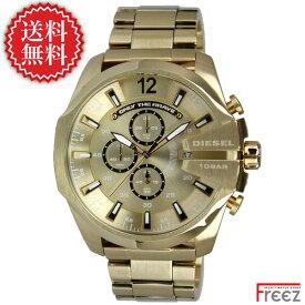 DIESEL ディーゼル 時計 メンズ 腕時計 MEGA CHIEF メガチーフ DZ4360 ALL GOLD【あす楽】【送料無料】