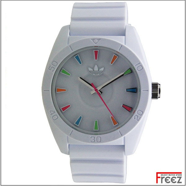 アディダス ADIDAS サンティアゴ SANTIAGO 白 ホワイトアディダス 時計 ADH2915【あす楽】