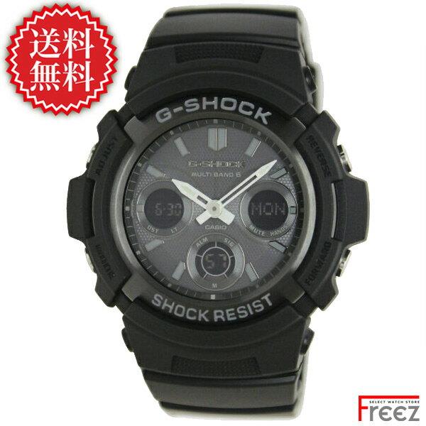 カシオ CASIO G-SHOCK 電波 ソーラー G-ショック ジーショック 腕時計 メンズ AWG-M100B-1A 世界6局受信 ソーラー 電波時計【あす楽】【送料無料】