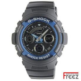 カシオ G-SHOCK メンズ 腕時計 ジーショック デジアナ AW-591-2A