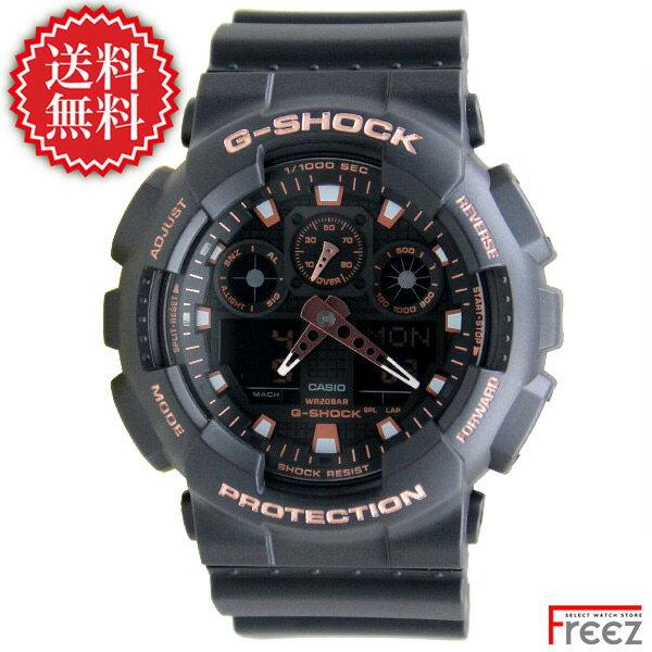 カシオ G-SHOCK 腕時計 SPECIAL COLOR BLACK×ROSE GOLD GA-100GBX-1A4【あす楽】【送料無料】