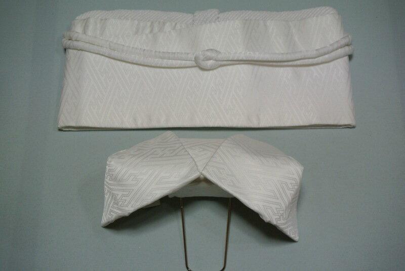 (2月20日迄・限定特価) [5セット限り] 婚礼用 掛下 ワンタッチ作り帯び (結婚式 和装 花嫁 ブライダル ウェディング)