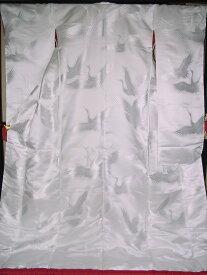 YA09■豪華絢爛 織物 白無垢 打掛 京都老舗機屋謹製 【販売品・受注生産・納期約3ヶ月・ご注文はお早めに!】【お仕立付き・代引き不可】【裏地・白、赤、などお好きな色でお仕立します】