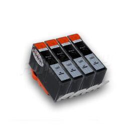 ヒューレットパッカード HP プリンターインク [IH51-set] Photosmart 6521用 互換インクカートリッジ HP178XL BK 黒 4本セット 増量 (純正同様 顔料インク) ICチップ付き【ポイント消化】【N】
