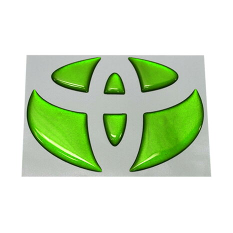 【BATBERRYドーミングステアリングエンブレム】トヨタS1エスクァイアハイブリッド80系ZWR80G用メタリックカラー1個【ポイント消化】