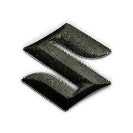 BATBERRYエンブレムフィルム [EFZ01m] スズキマーク クロスビー MN71S フロント用 粗目メタリックブラック (メタリックフレークシート)