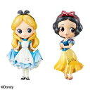 Q posket Disney Characters Special Coloring vol.1 アリス&白雪姫 全2種セット