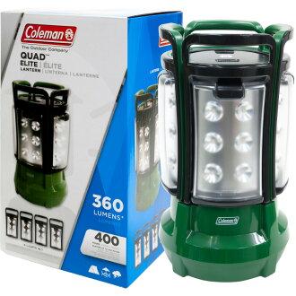 Coleman Quad LED Lantern 4 split COLEMAN SPECIAL EDITION QUAD LANTERN Quad Lantern camping outdoor climbing trekking disaster flashlight light lighting tarp BLACK RED 200A Special Edition
