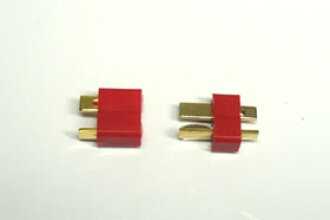 Conversion connector for radio control parts SGC-25 Model T 2P connector (for each one one pair of / male female case) general-purpose electrical component lights