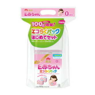 Morinaga eco probably Pack for the first time set E baby bag 350 g x 2 pieces