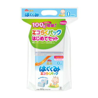 Morinaga eco probably Pack for the first time cultivate set bag 400 g x 2 pieces