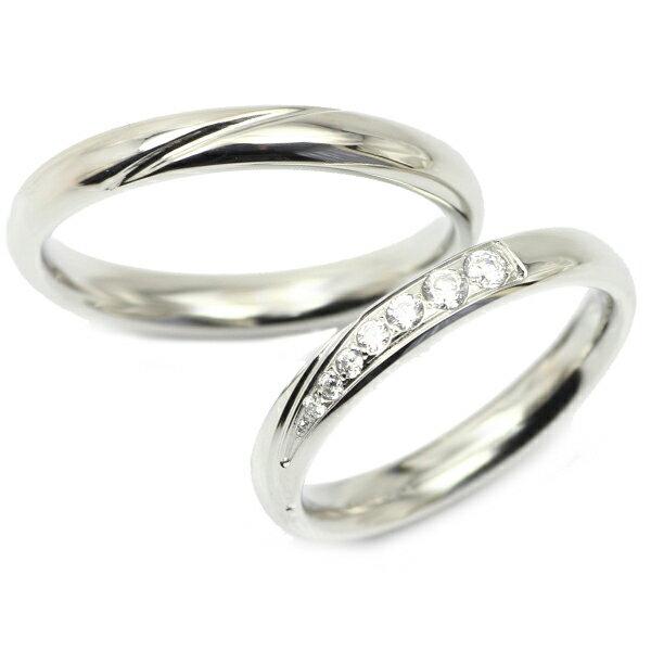 マリッジリング ペアリング 指輪 刻印 ステンレス リング 結婚指輪 vie ウェーブ ライン【楽ギフ_包装選択】【楽ギフ_メッセ】【楽ギフ_名入れ】 ジーラブ