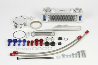 SP Takekawa compact cool AW kit (3 fin /4 oil lines) oil cooler ★ HONDA Honda CRF250L(MD38)