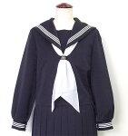 【送料無料】富士ヨット6A〜18A紺セーラー・白三本線普通体型用