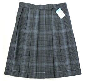 制服サマースカート【SKR414】KURI-ORIクリオリ グレーチェック W60〜72丈48 夏用(6月〜9月)【ラッキーシール対応】