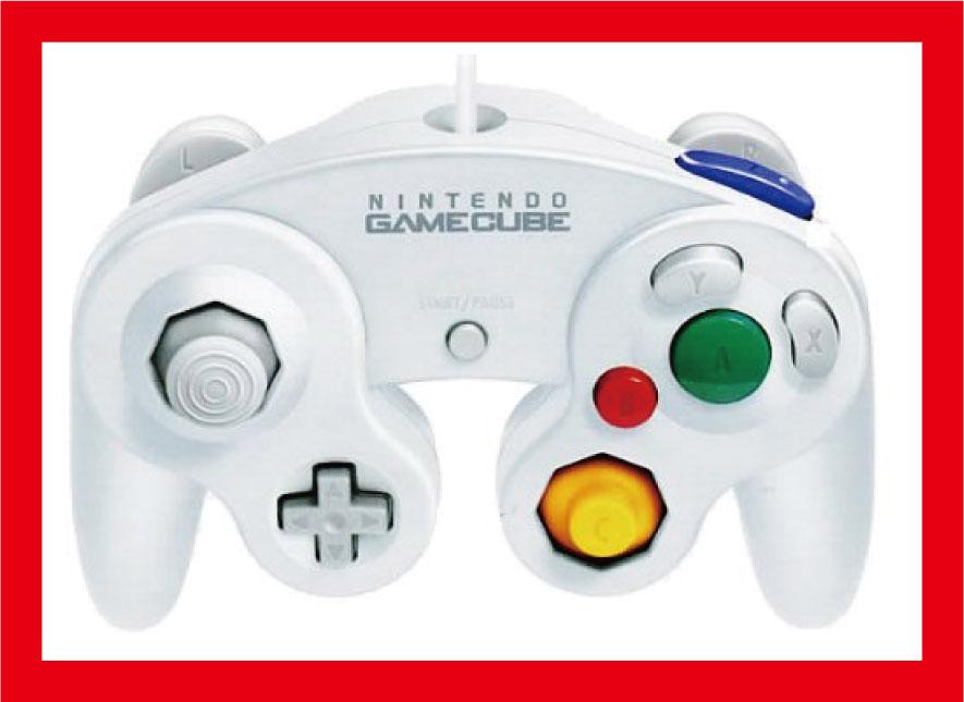 【新品】(税込価格) Wii用/ゲームキューブコントローラ ホワイト 【任天堂純正品】