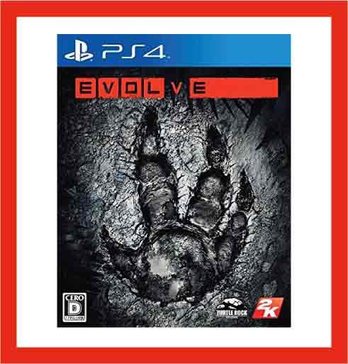 【新品】(税込価格)PS4 EVOLVE ◆取り寄せ品◆当店からの発送は2〜3営業日後
