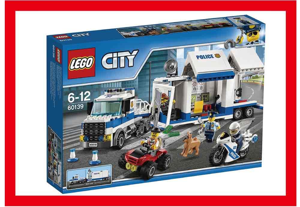【新品】(税込価格)[LEGO CITY] レゴシティ ポリストラック司令本部 (6-12)(60139)【レゴブロック】/新品ですが外装に少し傷み汚れ等がある場合がございます。