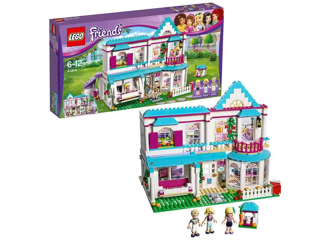 【新品】(税込価格) レゴ(LEGO) 41314 Friends フレンズ ステファニーのオシャレハウス(6-12)【レゴブロック】