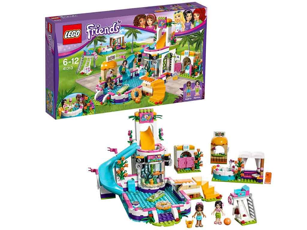 【新品】(税込価格) レゴ(LEGO) Friends フレンズ ドキドキウォーターパーク 41313 (6-12)【レゴブロック】