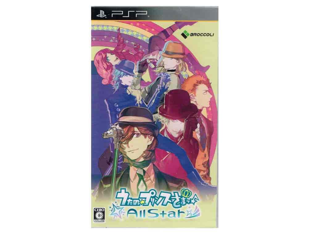 【新品】(税込価格) PSP うたの☆プリンスさまっ♪All Star オールスター