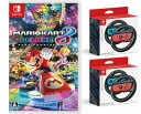 【新品】(税込価格)[3点セット] Nintendo Switch マリオカート8デラックスゲームソフト+Joy Conハンドル2個セット+Joy…