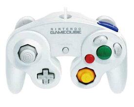 【新品】(税込価格) Wii用/ゲームキューブコントローラ ホワイト 【任天堂純正品】/外箱に少し傷み汚れ等がある場合がございます。