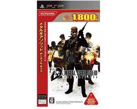 【新品】 未使用 PSP メタルギアソリッド ポータブル・オプス METAL GEAR SOLID PORTABLE OPS 殿堂コレクション版