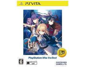 【新品】(税込価格) PSVITA フェイト/ステイナイト[レアルタ・ヌア] Fate/stay night[Realta Nua] Best版