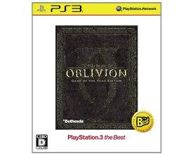 【新品】(税込価格)PS3 The Elder Scrolls IV: オブリビオン Game of the Year Edition(The Elder Scrolls IV: OBLIVION Game of the Year Edition)ベスト版