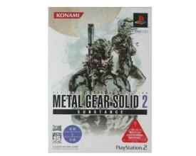 【新品・未使用】(税込価格)PS2 メタルギアソリッド2サブスタンス (METAL GEAR SOLID 2 SUBSTANCE) コナミ殿堂セレクション版