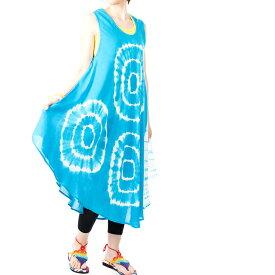 タイダイ ワンピース チュニック 8タイプ【エスニックファッション アジアンファッション レディース エスニック アジアン キャミワンピ かわいい ゆったり おしゃれ EDM BOHO コーデ パリピ ファッション】