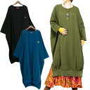 エスニック ワンピース ロング 無地 長袖 レディース エスニックファッション アジアンファッション ワンピ かわいい 体型カバー ゆったり 大きいサイズ